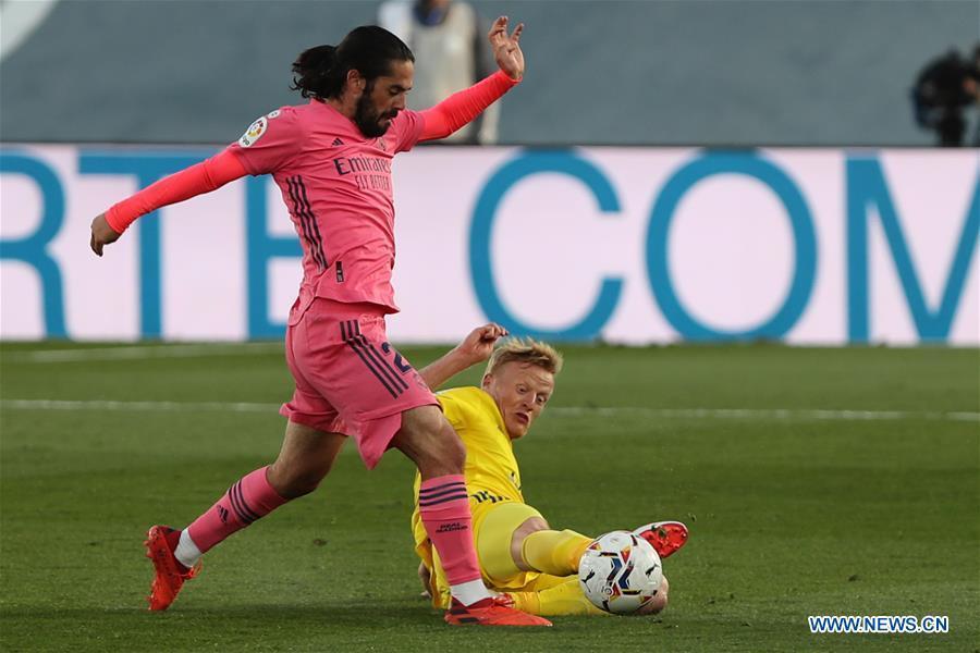 Spanish football league: Real Madrid vs. Cadiz CF