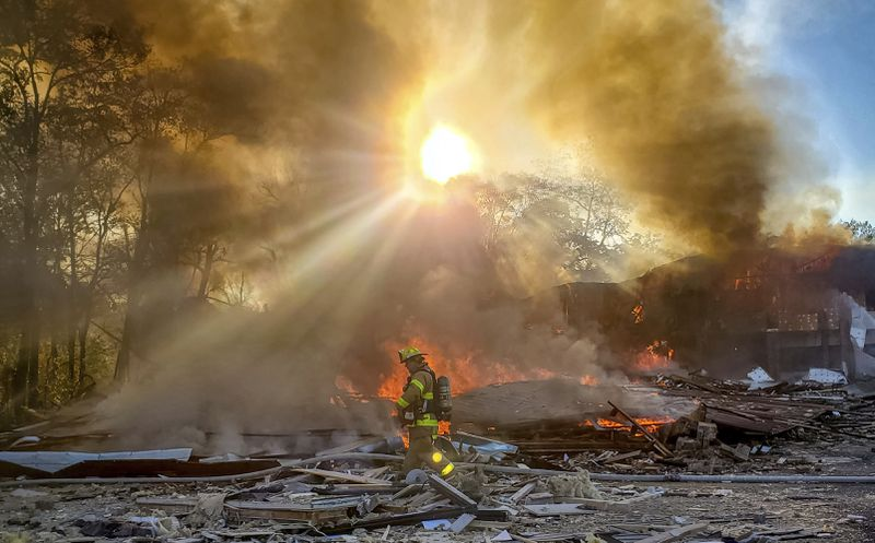 At least 3 injured in shopping center explosion in US state Virginia