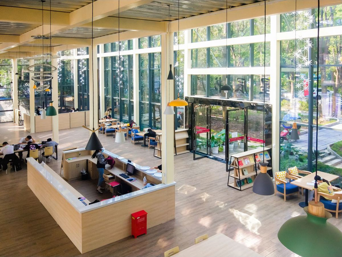 New university library in Wuhan caters to top students