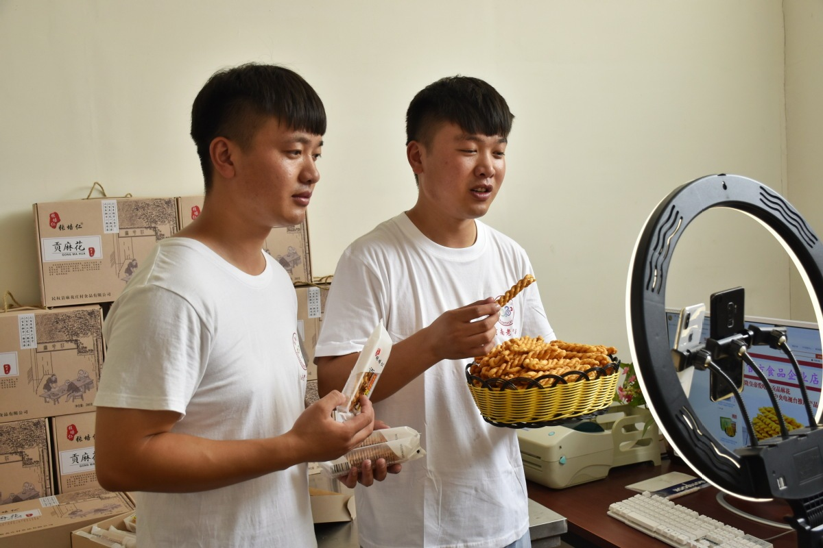 E-retailing back to pre-COVID-19 levels in China's poverty-stricken counties