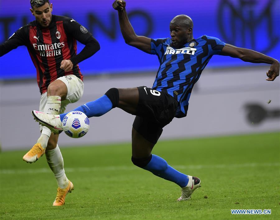 Highlights of Italian Serie A soccer match