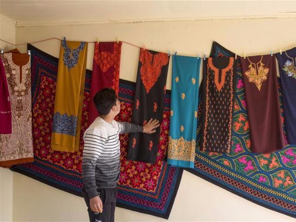 Craft fair held in Srinagar city, Indian-controlled Kashmir