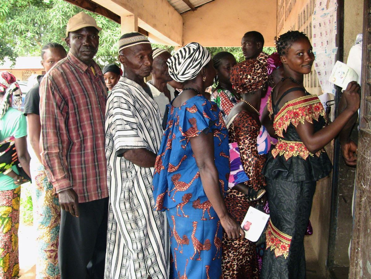 Voters in Guinea go to polls in national elections