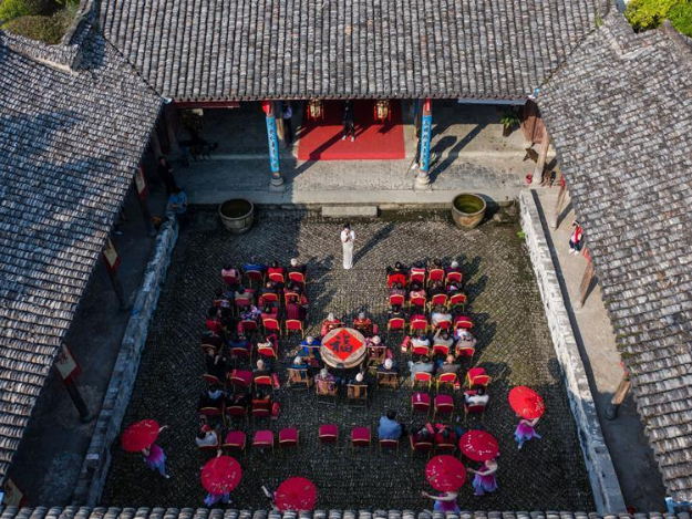 Event to greet upcoming Double Ninth Festival held in Hangzhou