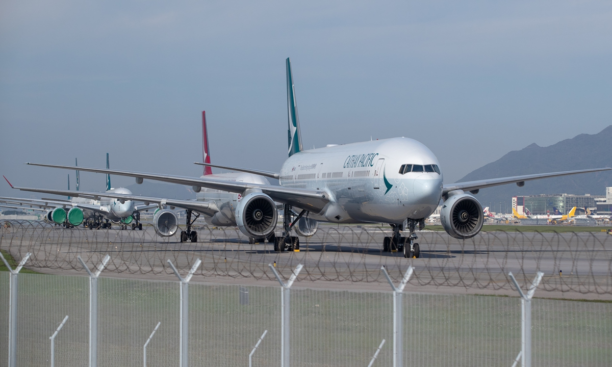 Cathay Pacific Group reports 98% decline in passengers in September