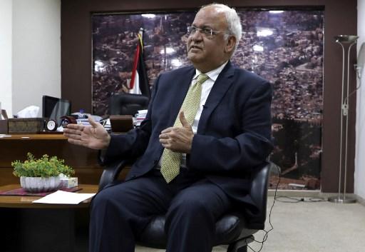 Top Palestinian official Erekat 'critical' from virus: hospital