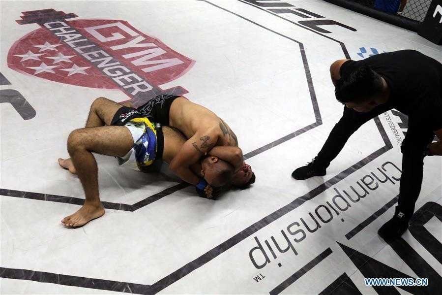 Mixed martial arts competitions resumed in Iraqi capital Baghdad