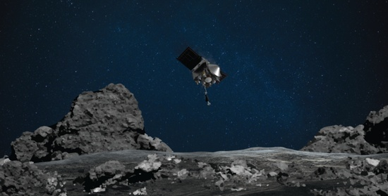 NASA mission makes historic attempt to snag sample of asteroid Bennu