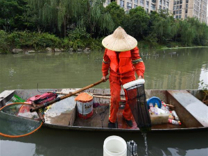 High-tech measures applied to improve river ecosystem in Hangzhou