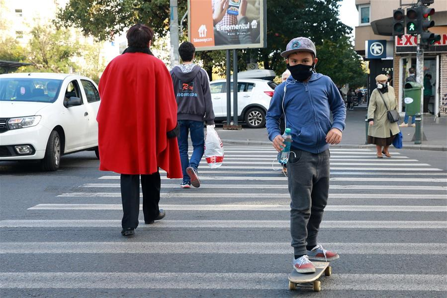 Romania's Bucharest makes mask-wearing in public spaces compulsory