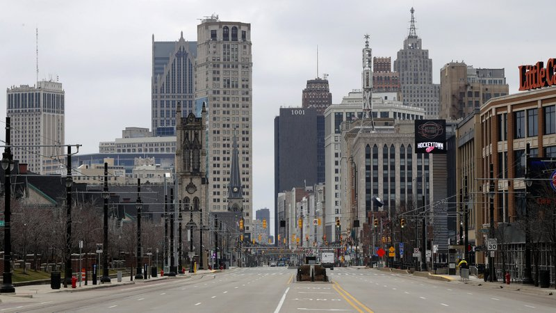 From Detroit to Oakland, pandemic threatens urban renewal