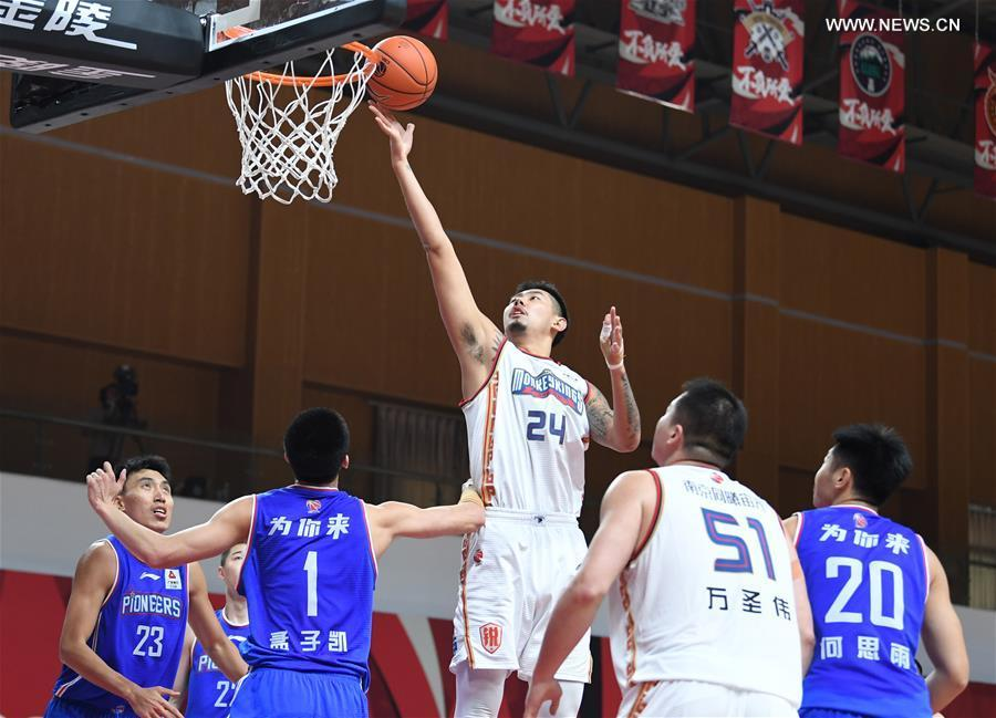 CBA league: Nanjing Monkey Kings vs. Tianjin Pioneers