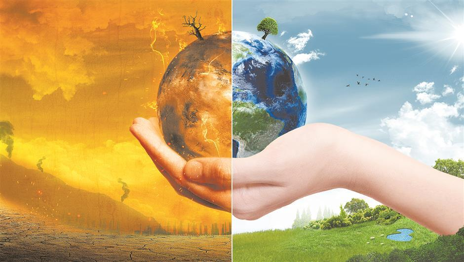 Scientists confront climate issues during online event