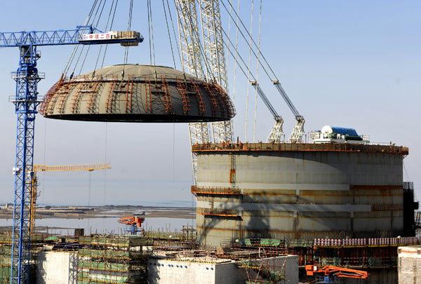 Haiyang nuclear plant furthers nation's green push