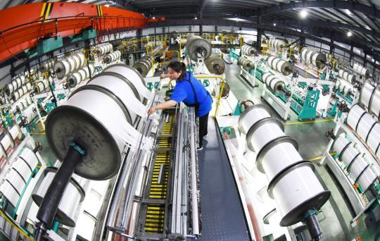 Q1-3 industrial growth turns positive