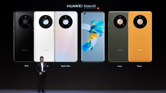 Huawei unveils Mate 40 5G smartphones