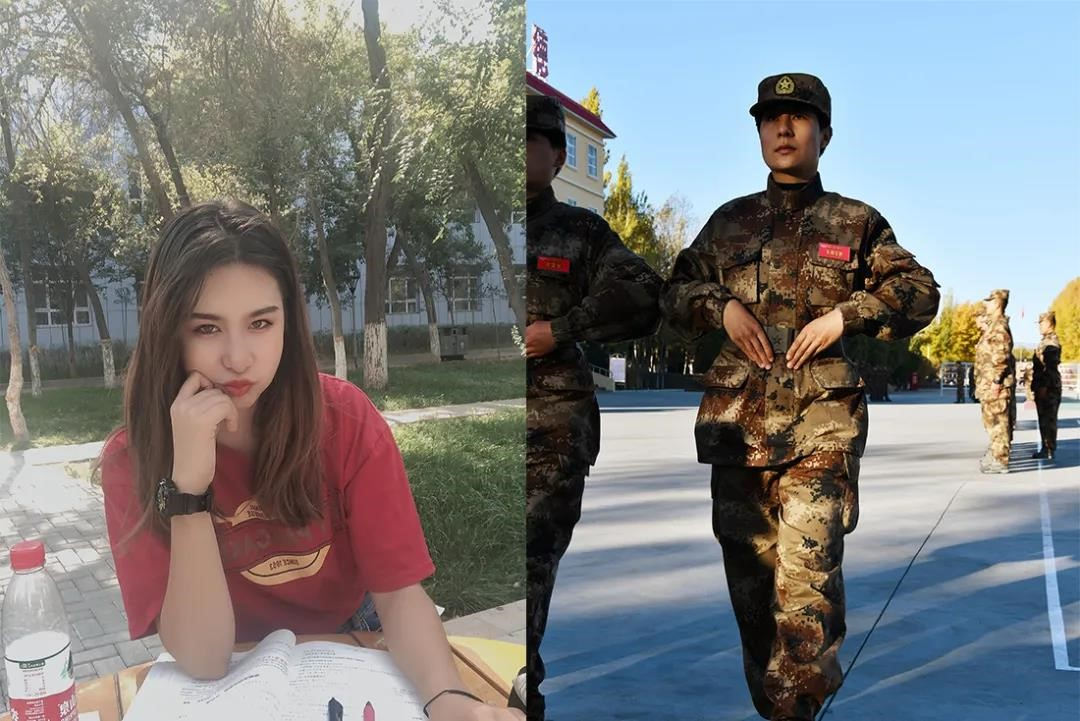 Combo photos show great changes in women after enlisting