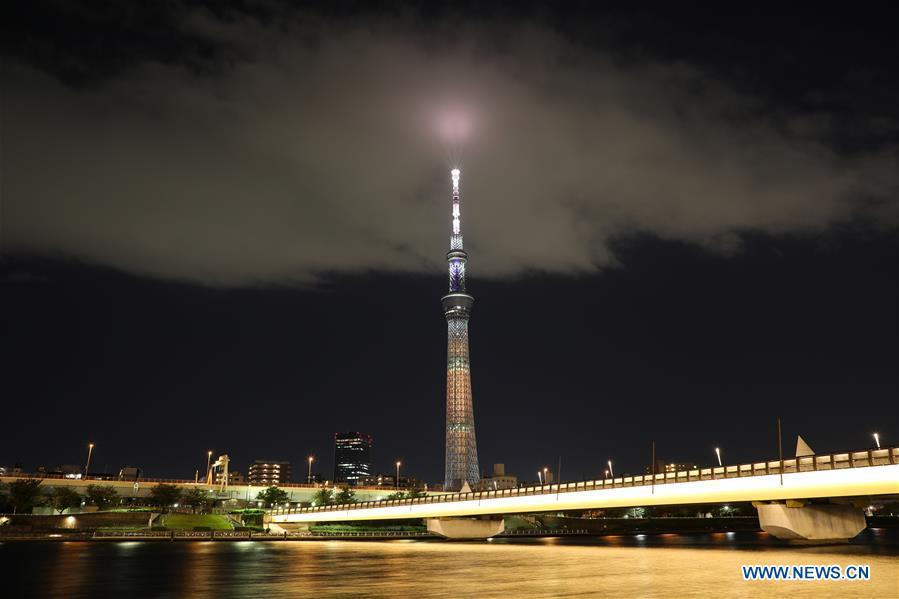 In pics: Tokyo Skytree with special illumination pattern
