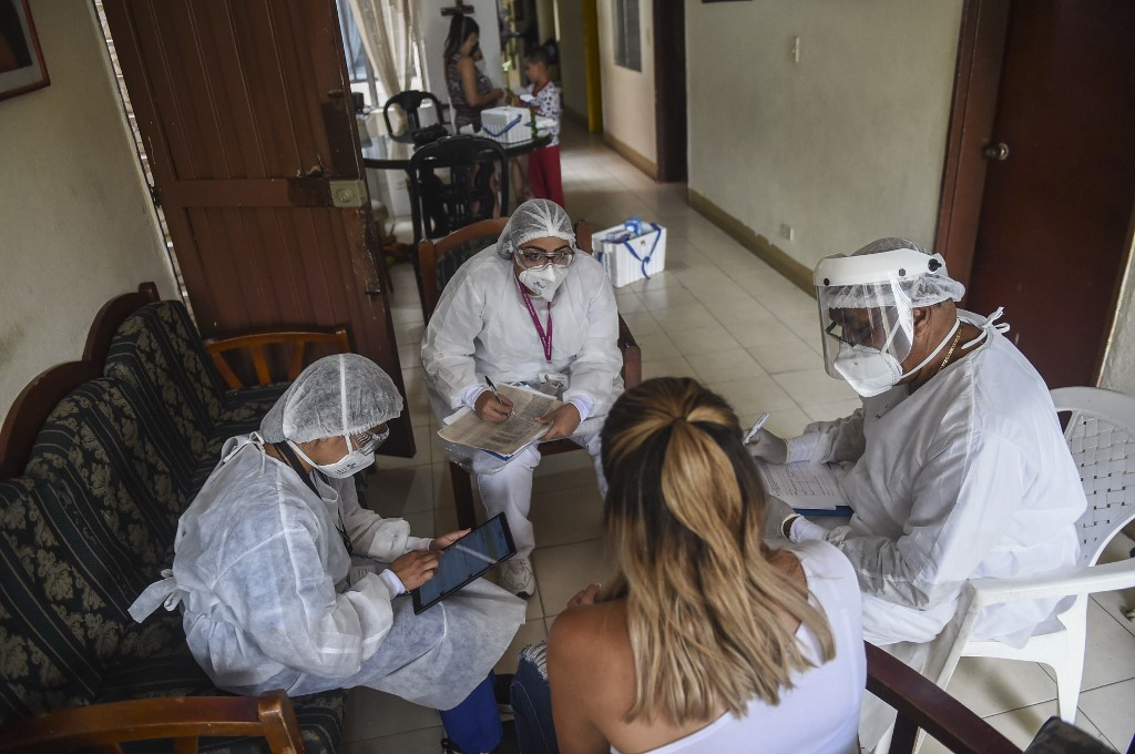 COVID-19 cases surpass one million in Colombia