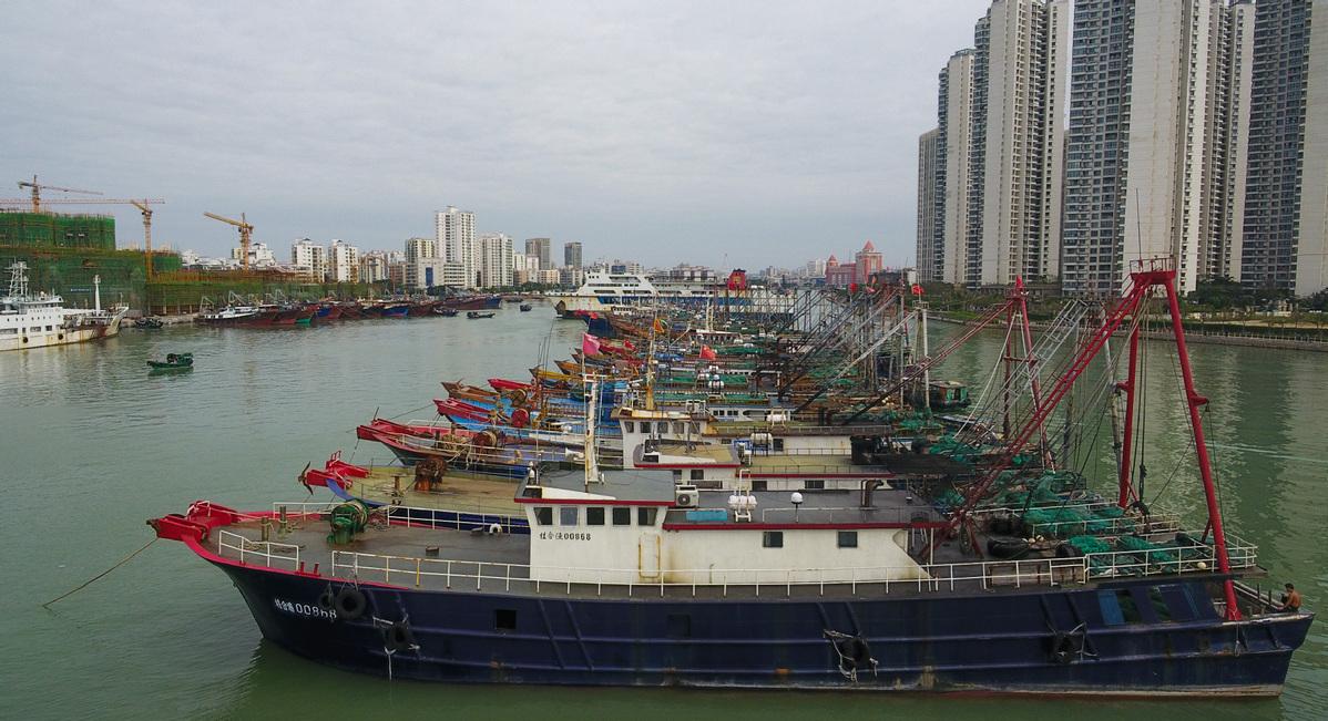 China renews yellow alert for Typhoon Saudel