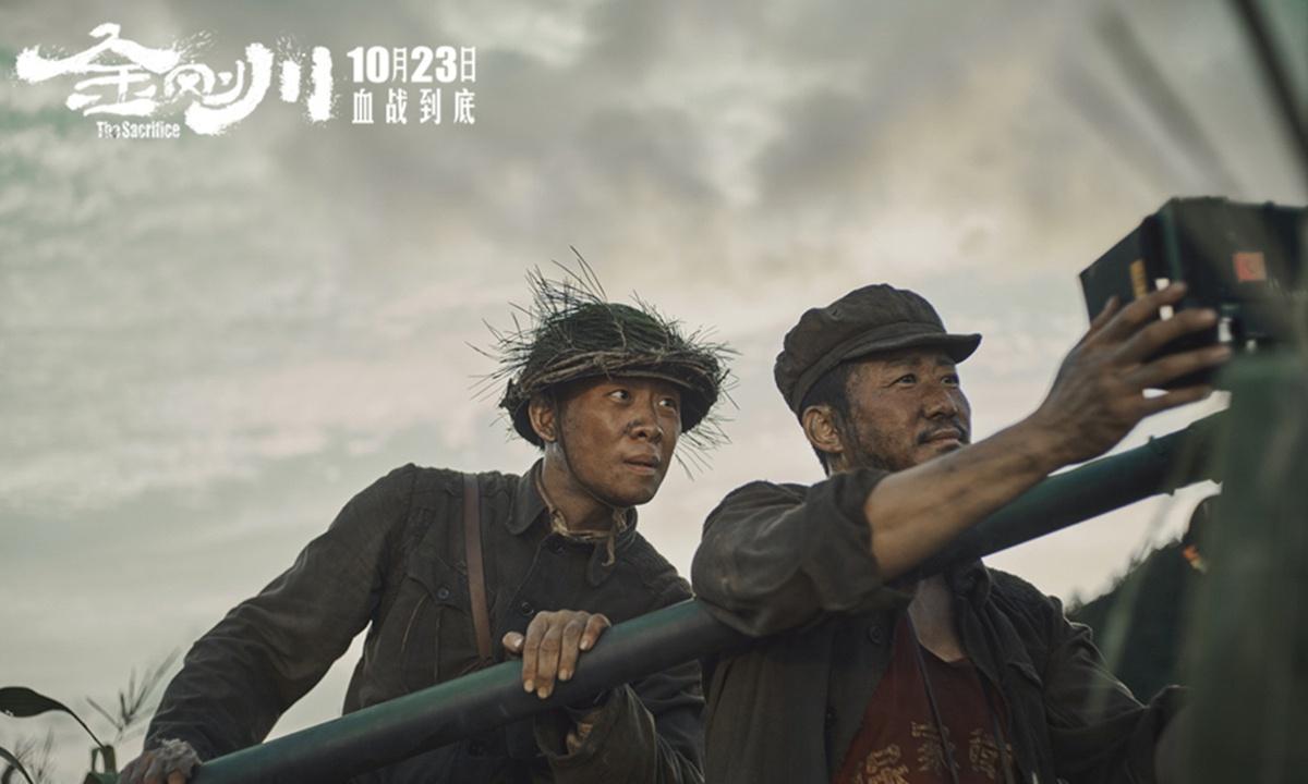 "War film ""The Sacrifice"" leads Chinese mainland box office"