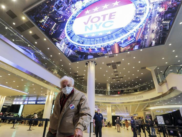 New York early voting starts on Saturday