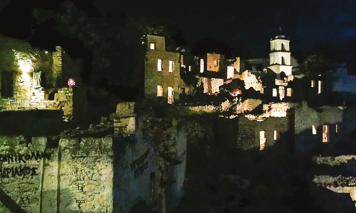 Greek ghost villages wake up for tourists