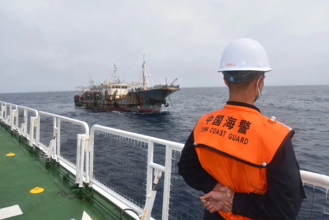 Chinese coast guard captures 21 in smuggling case