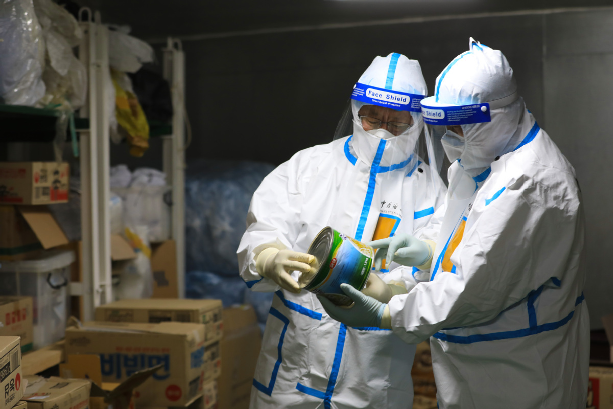 Food safety prioritized to end pandemic