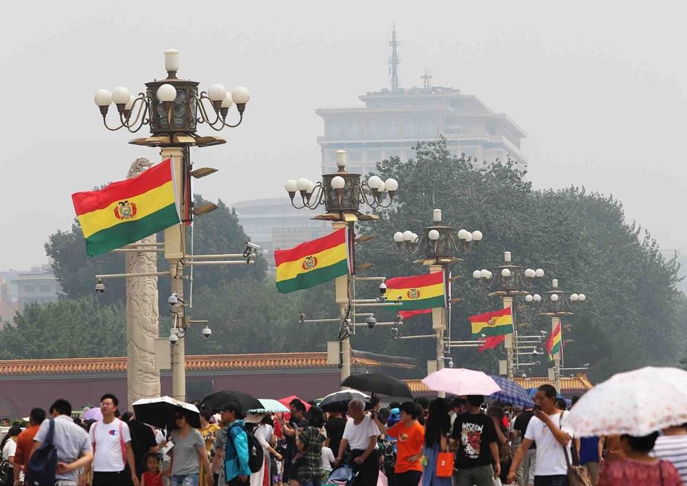 Xi congratulates Arce on election as Bolivian president