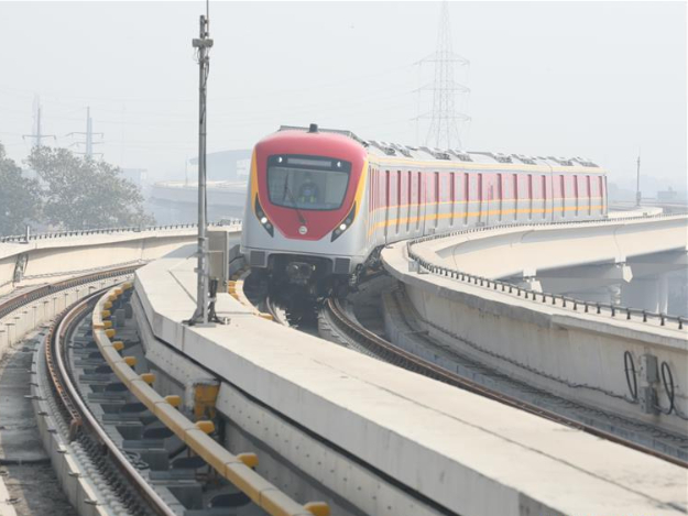 Pakistan's 1st ever metro train service starts commercial operation in Lahore