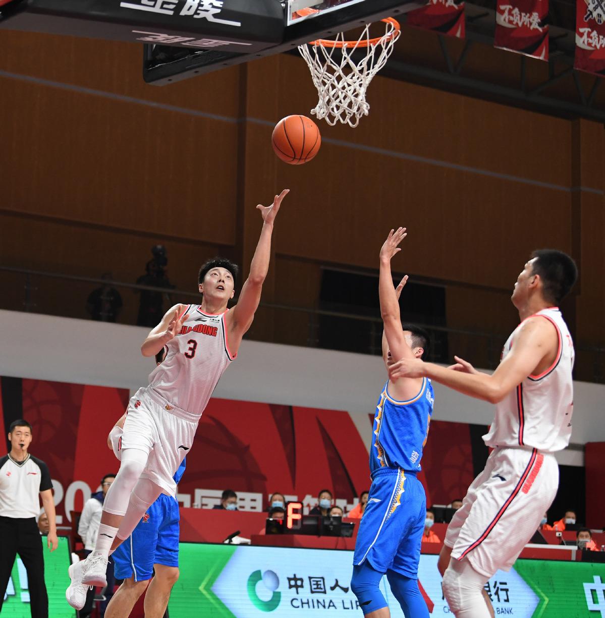 Hu's 28 leads Guangdong past Fujian in CBA