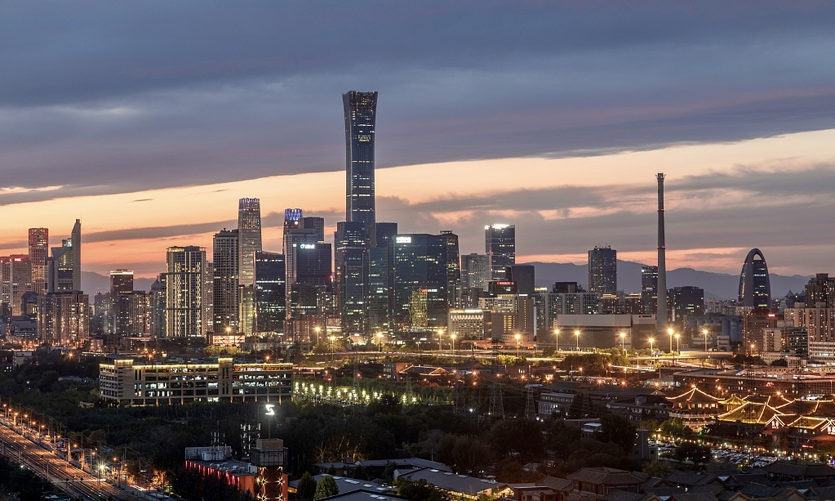 Beijing's financial sector sees positive growth in H1