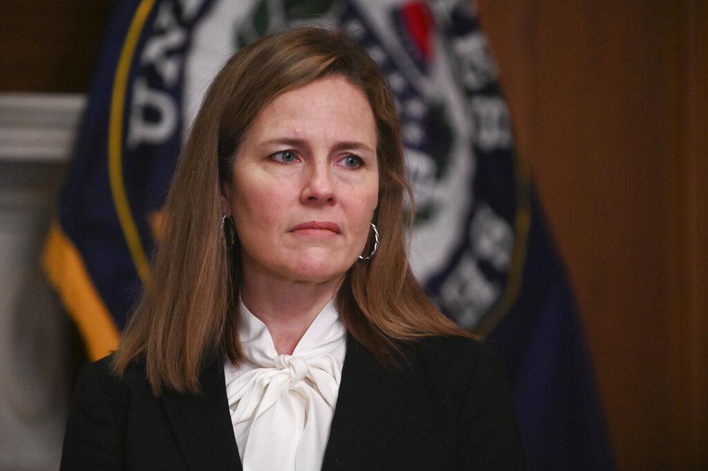 US Senate votes to advance Barrett; confirmation expected Mon