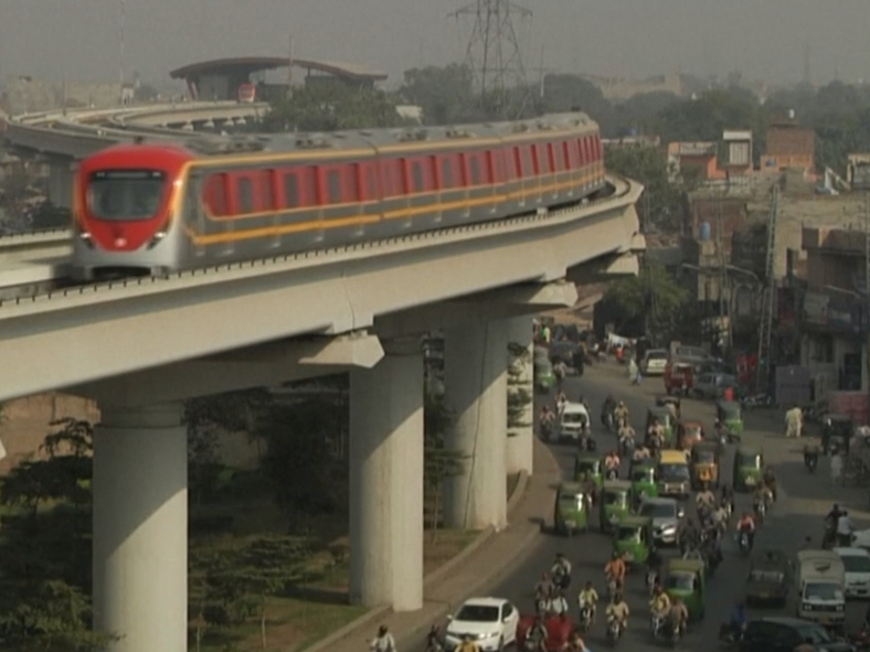 China-made metro launches in Pakistan