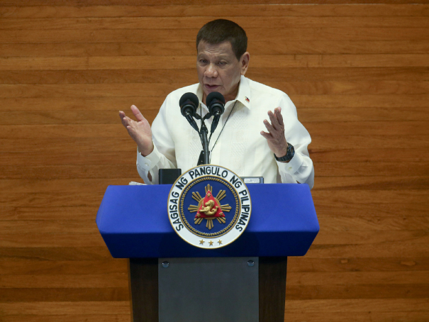 Philippines' Duterte vows to fight corruption before term ends in 2022