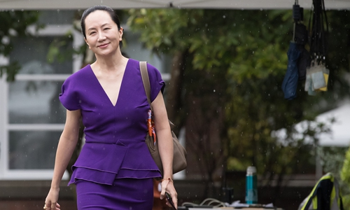 Meng Wanzhou attends five-day court hearing in Canada