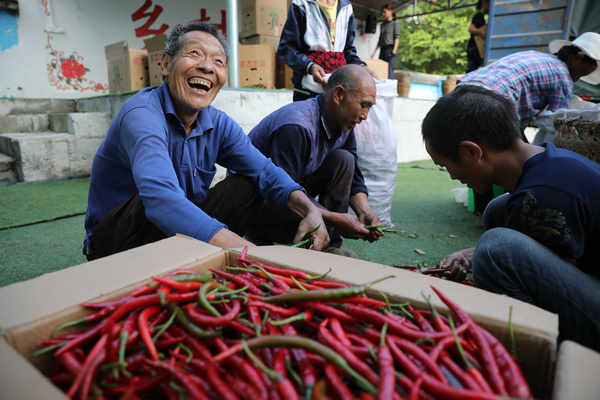 Cadre in rural Guizhou leads by example