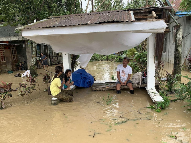 13 missing as Typhoon Molave pounds the Philippines