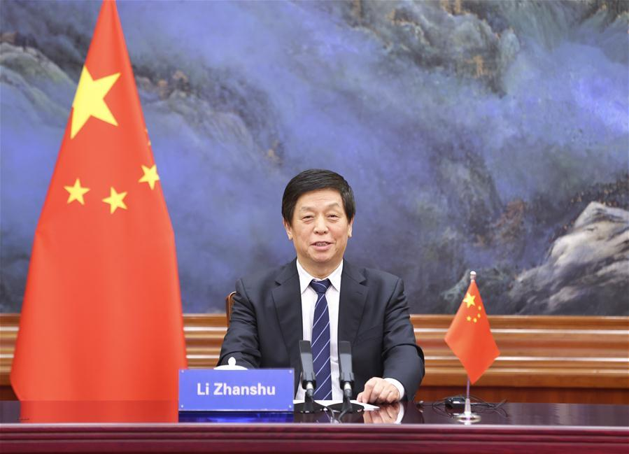 China's top legislator proposes greater parliamentary cooperation among BRICS countries