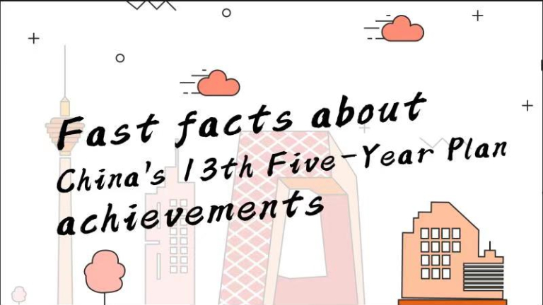 Fast facts about China's 13th Five-Year Plan achievements