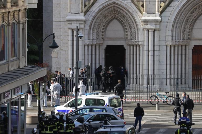 Knife attacker in Nice kills 3, injures several