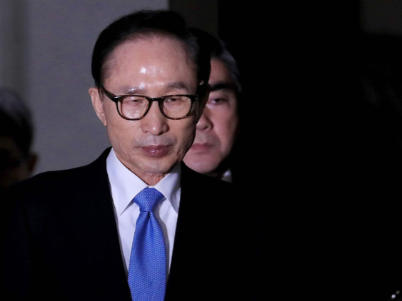 Former S. Korean President Lee Myung-bak gets 17-year prison term