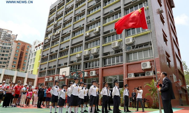 Over 90% of schools in HKSAR celebrate Chinese National Day in 2020: survey