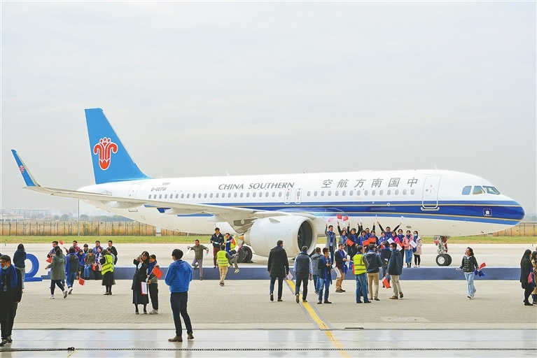 Airbus delivers 500th A320 aircraft assembled in China delivered