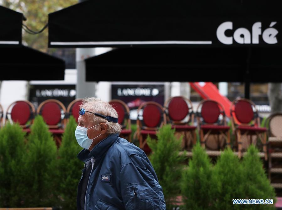France reports 47,637 coronavirus cases on eve of lockdown
