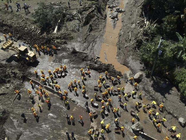 Salvadoran government confirms at least 6 dead, 30 missing after landslide