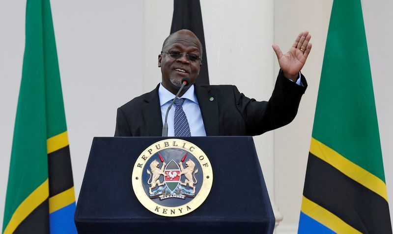 Magufuli elected Tanzania's president for second term