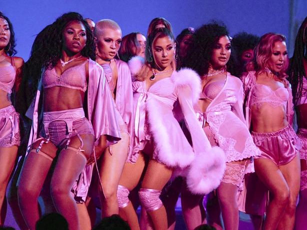 Ariana Grande drops sultry new album, backs Biden