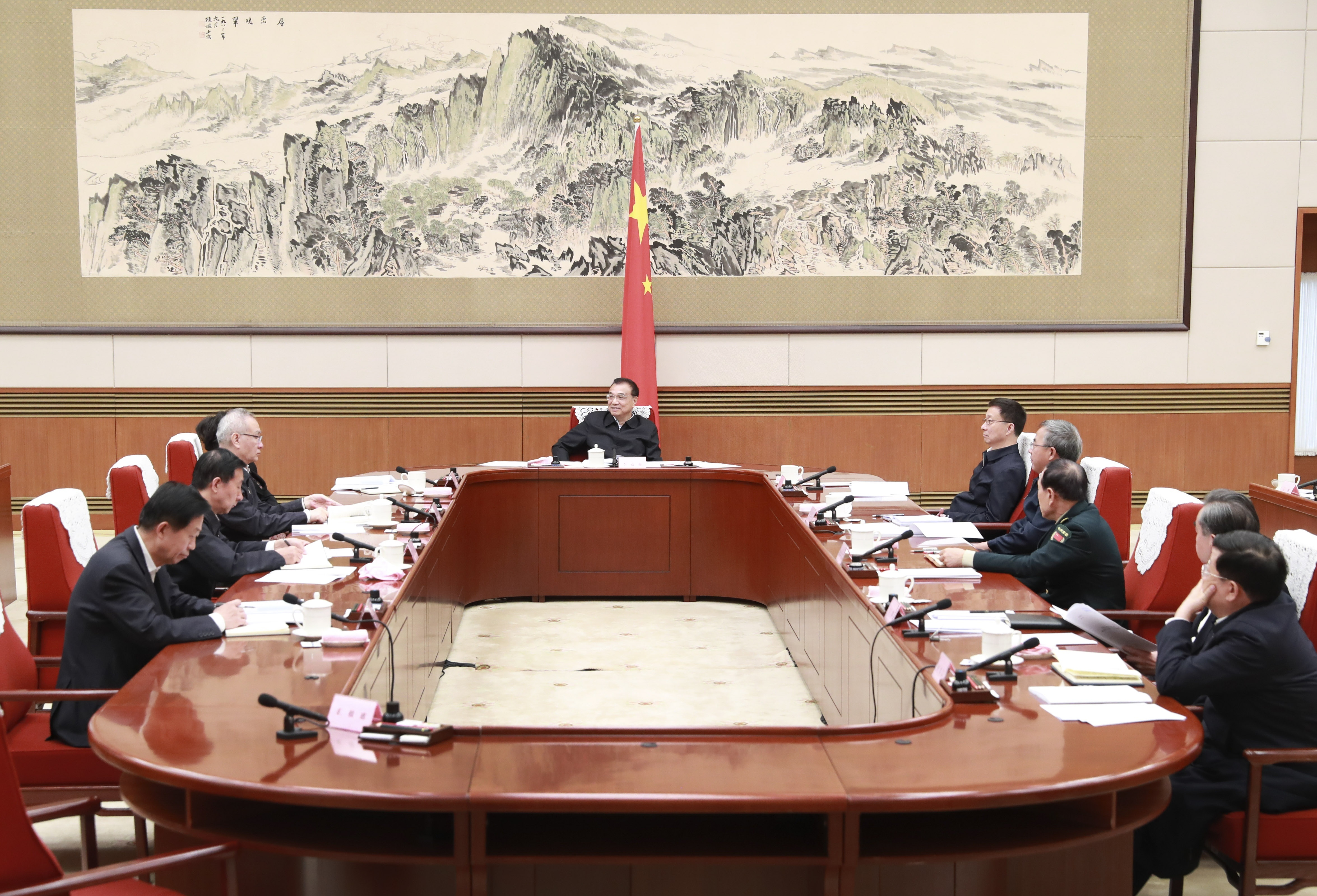 Chinese premier stresses high-standard formulation of new five-year plan